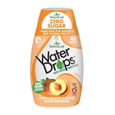 Water Drops breskva-mango SweetLeaf 48ml