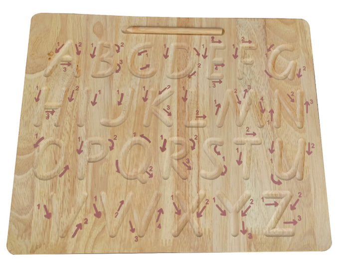Qtoys Captial Letter Writing Board