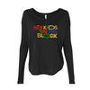 NKOTB Holiday Logo Ladies Long Sleeve Tee