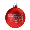 NKOTB Logo Ornament