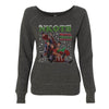 Merry Merry Christmas Photo Ladies Sweatshirt
