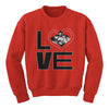 Love Vintage Photo Crewneck Sweatshirt