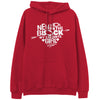 New Kid's On The Block Favorite Girl Red Pullover Hoodie