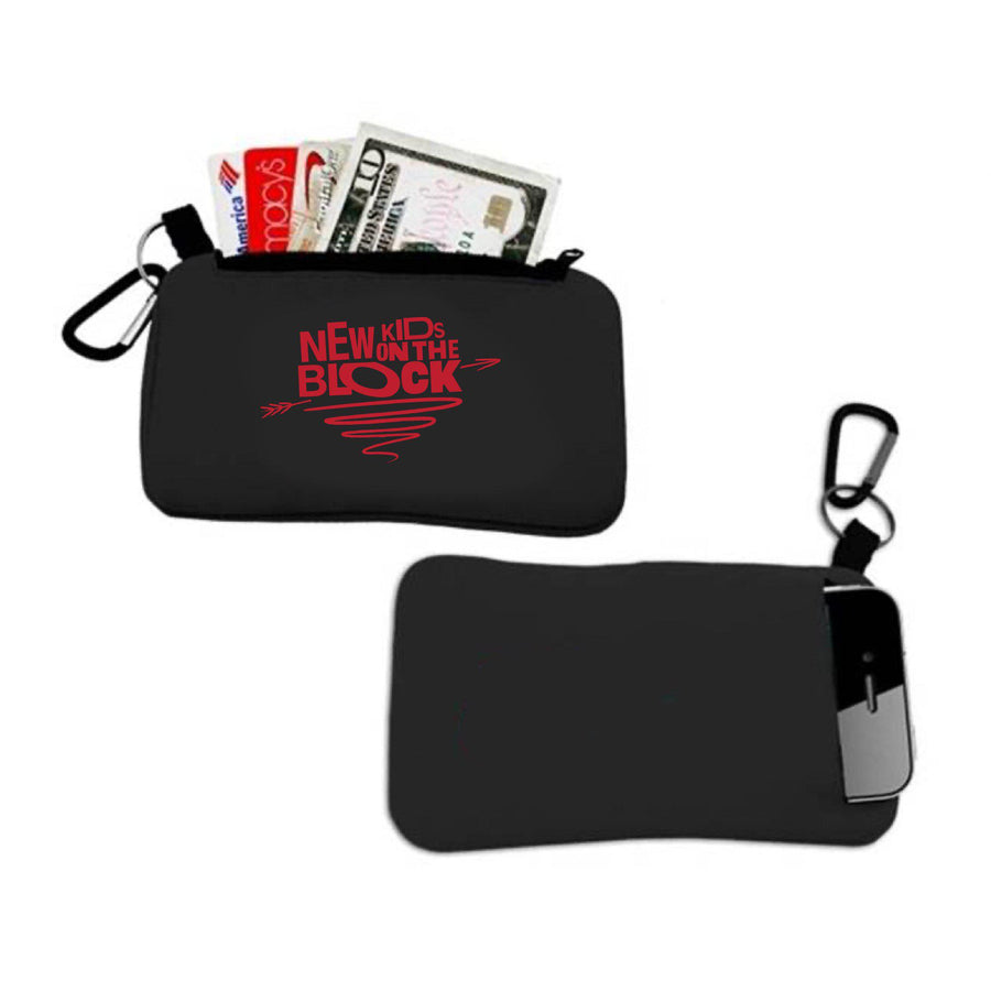 NKOTB Cupid's Arrow Credit Card + Phone Pouch