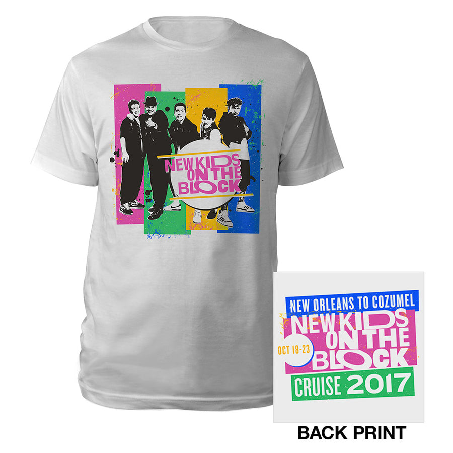 New Orleans to Cozumel Cruise Vintage Photo Tee-New Kids on the Block