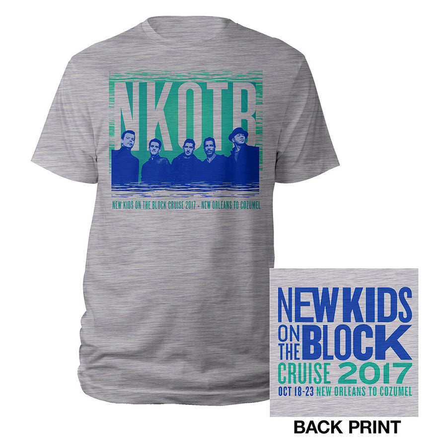 New Orleans to Cozumel Cruise 2017 Tee-New Kids on the Block