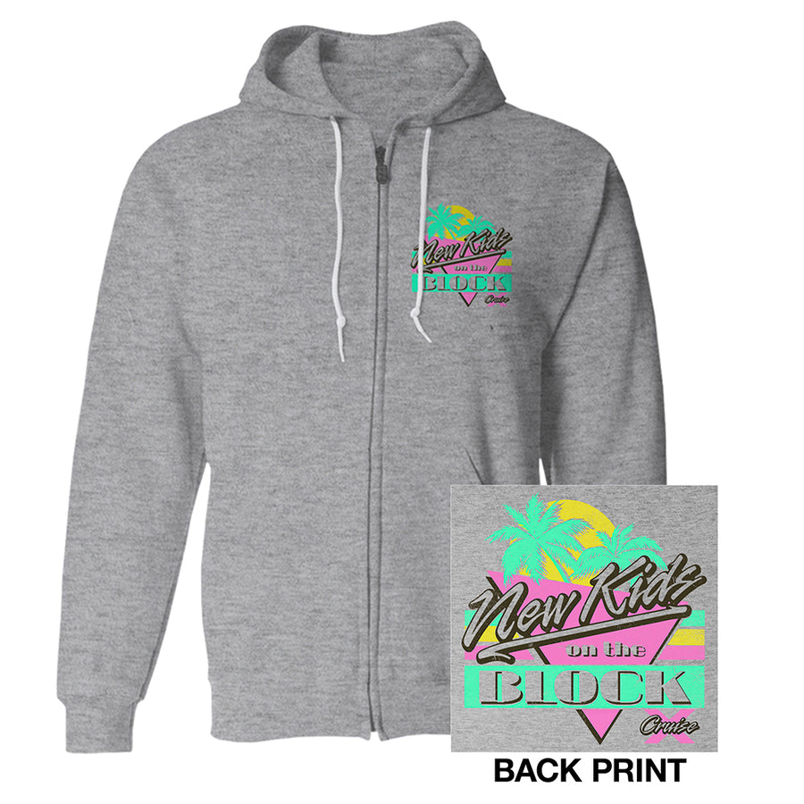 New Kids on the Block Cruise Zip Hoodie-New Kids on the Block
