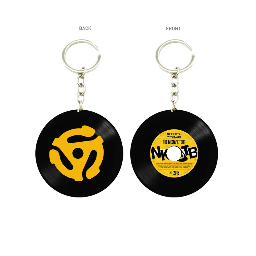 The Mixtape Tour Vinyl keychain-New Kids on the Block