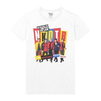 NKOTB The Mixtape Block Party Photo Tee-New Kids on the Block