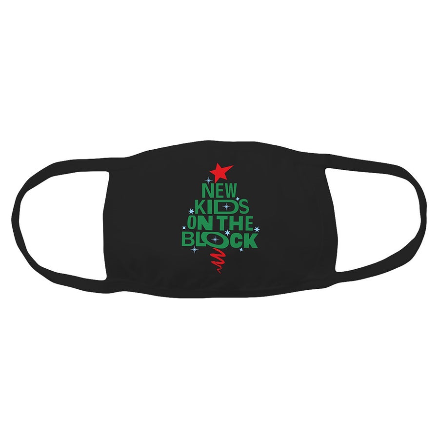 NKOTB Holiday Face mask