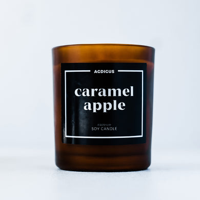 CARAMEL APPLE SOY CANDLE - Agdigus Essentials