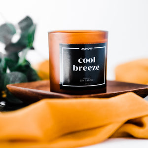 COOL BREEZE SOY CANDLE - Agdigus Essentials