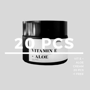 RESELLER VIT E + ALOE CREAM - Agdigus Essentials