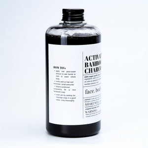 Activated Bamboo Castille Soap (Free 500mL Alcogel)
