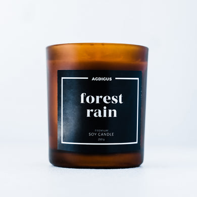 FOREST RAIN SOY CANDLE - Agdigus Essentials