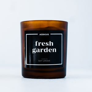 FRESH GARDEN SOY CANDLE - Agdigus Essentials