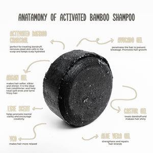 CHARCOAL SHAMPOO BAR - Agdigus Essentials