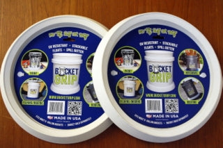 BucketGrip-WHITE-2 Pack BEST VALUE! SAME SHIPPING COST AS 1
