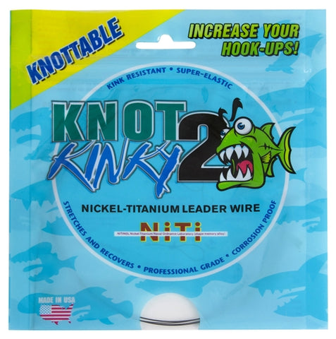 Knot 2 Kinky Single Strand Nickel-Titanium Leader Wire