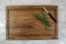 "Load image into Gallery viewer, Custom Engraved Butcher Block 12"" x 18"""