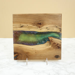 Galaxy Resin Serving Board