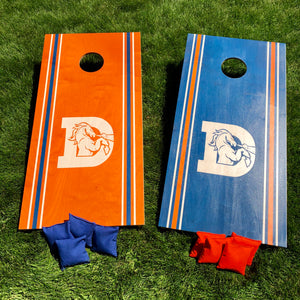 Denver Broncos Cornhole Boards