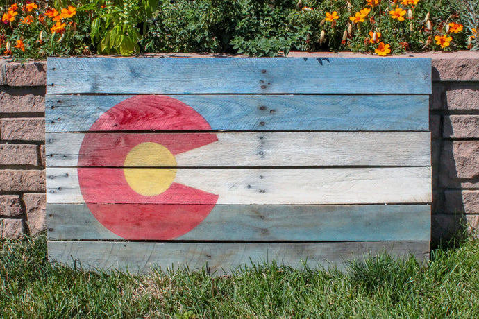 Colorado Pallet Flag