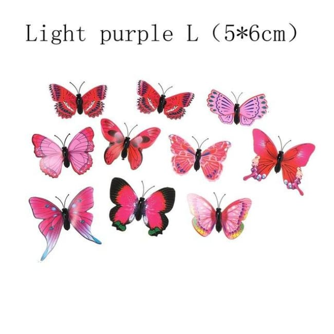 5pcs Set Butterfly Hair Clips Wedding Pins Photography Barrettes