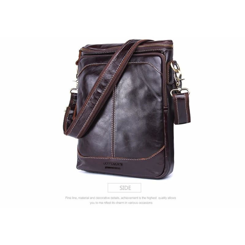 ... Load image into Gallery viewer, Contacts Hot!! 2018 Genuine Leather  Bags Men High ... ea48ebbdd6
