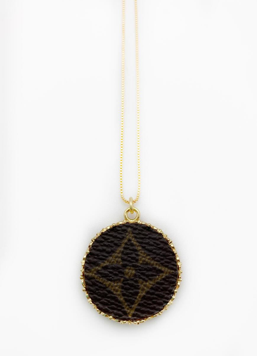 Repurposed Louis Vuitton Jewelry