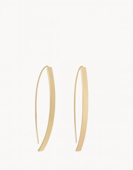 Arc Hoop Earrings