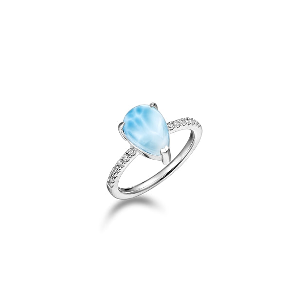 Alamea Hawaii Larimar Ring