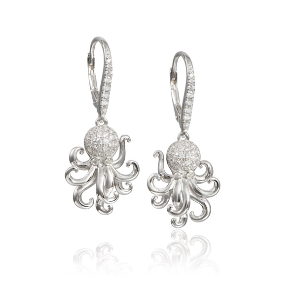 Alamea Hawaii Octopus Earrings