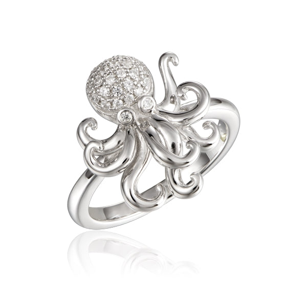 Alamea Hawaii Octopus Ring - Size 8