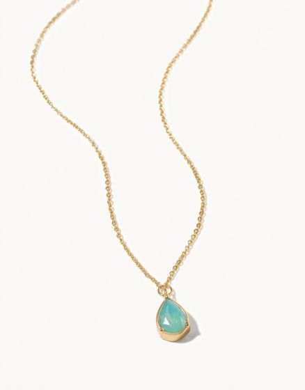Oh Shell Birthstone Necklace