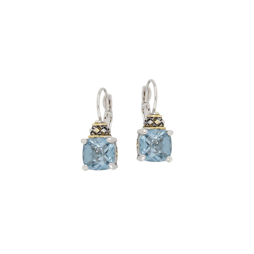 Anvil Collection Square Cut French Wire Earrings