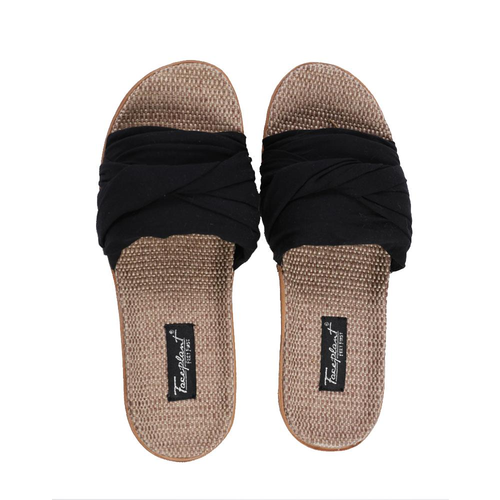 Hemp Bamboo Slides Black