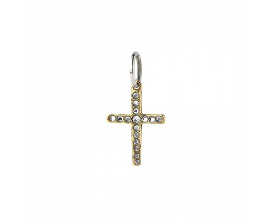 Waxing Poetic Amor Fati Single Cross Charm