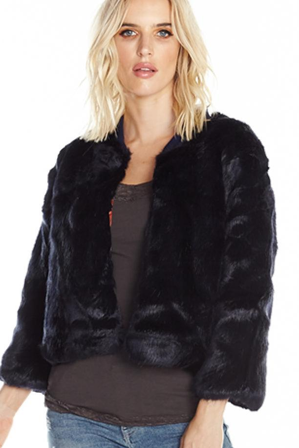Aratta Gotha Fur Jacket~ Reversible