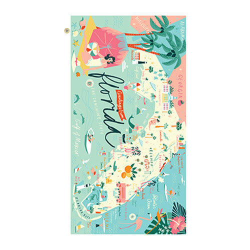Florida Beach Towel