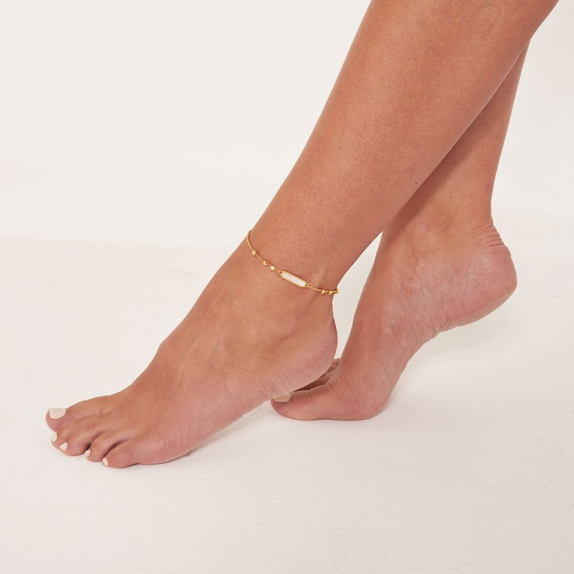 Gold Shell Ankle