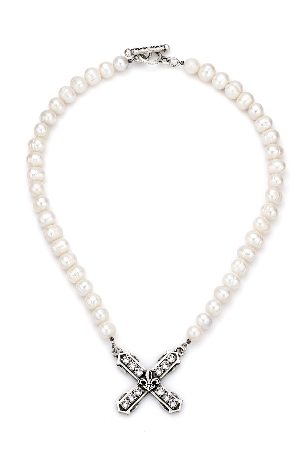 PEARLS WITH SWAROVSKI FRENCH KISS