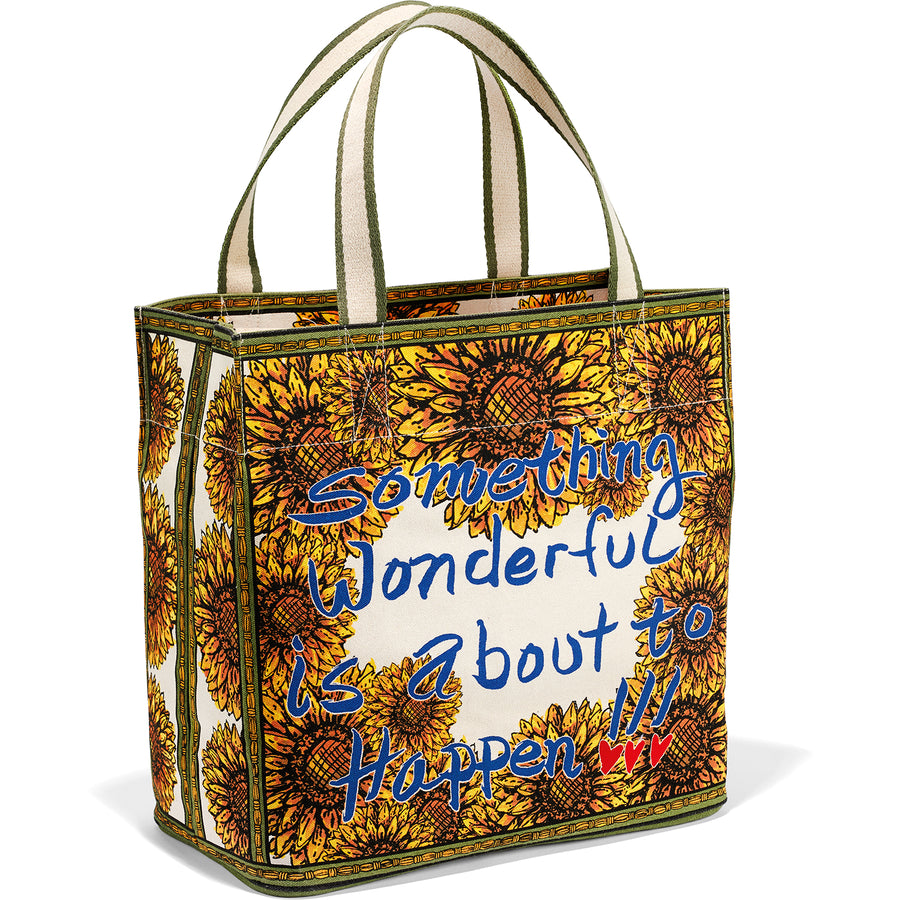 Brighton Something Wonderful Sunflower Tote