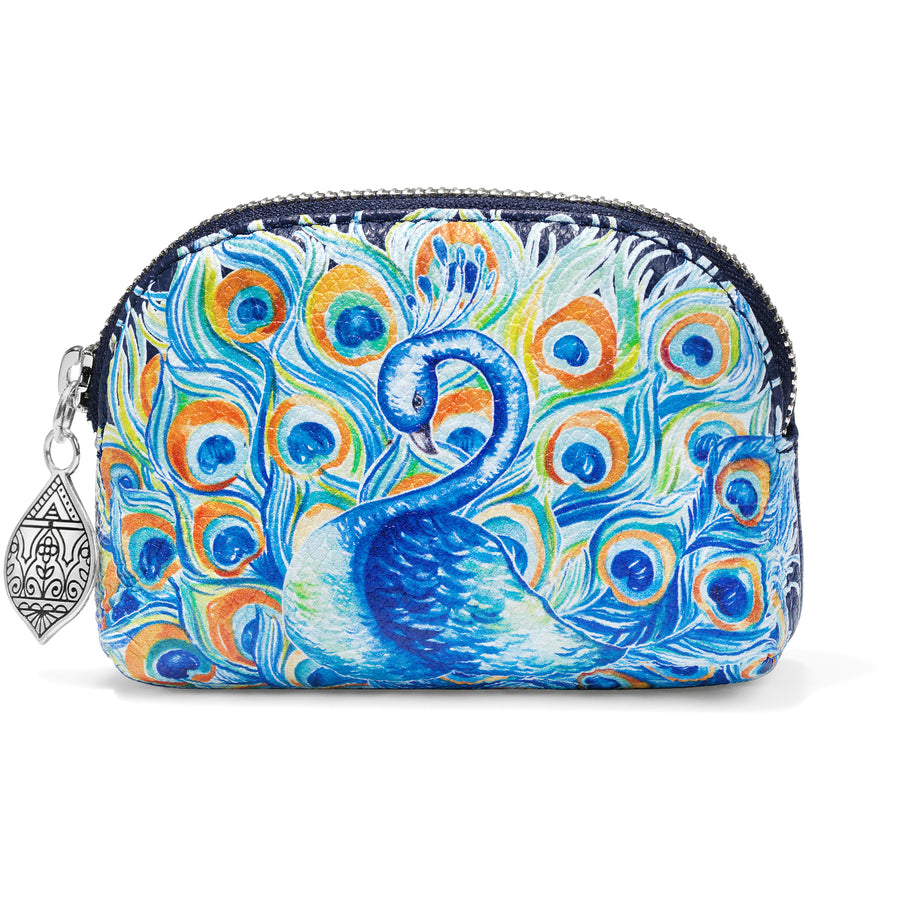 Journey To India Peacock Mini Coin Purse