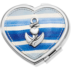 Brighton Cruz Heart Compact Mirror