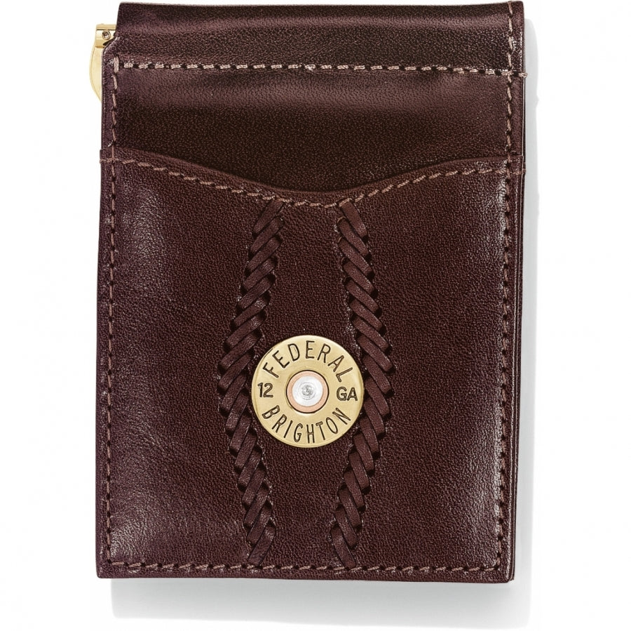 Brighton Macon County Money Clip Wallet