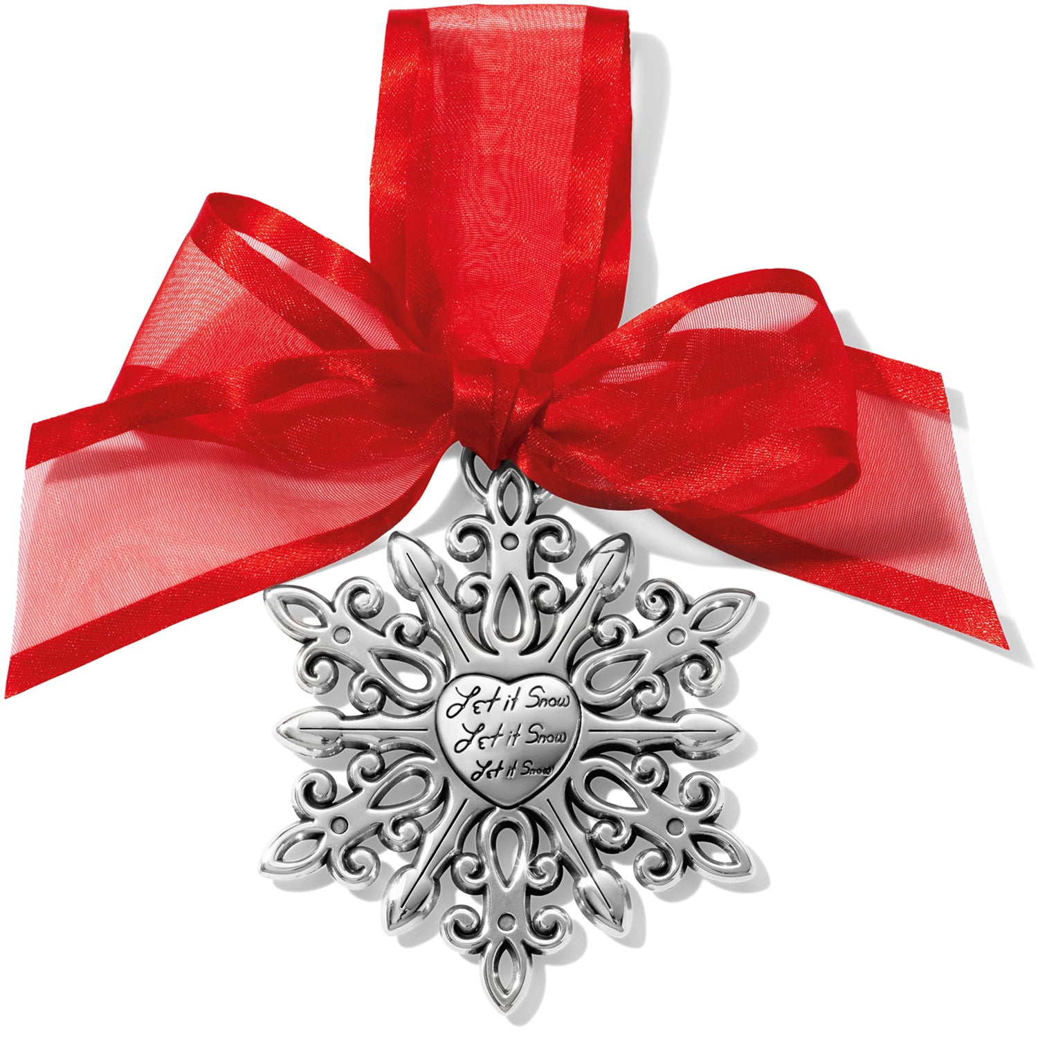 Winter Snowflake Christmas Ornament