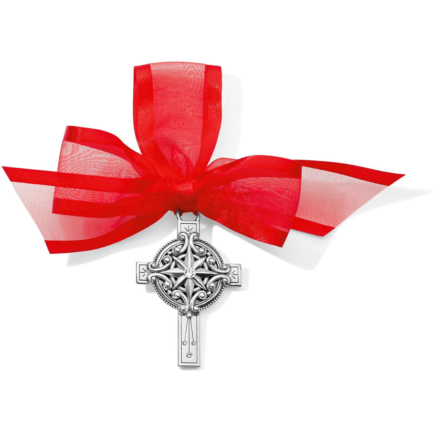 Christmas Star Cross Ornament