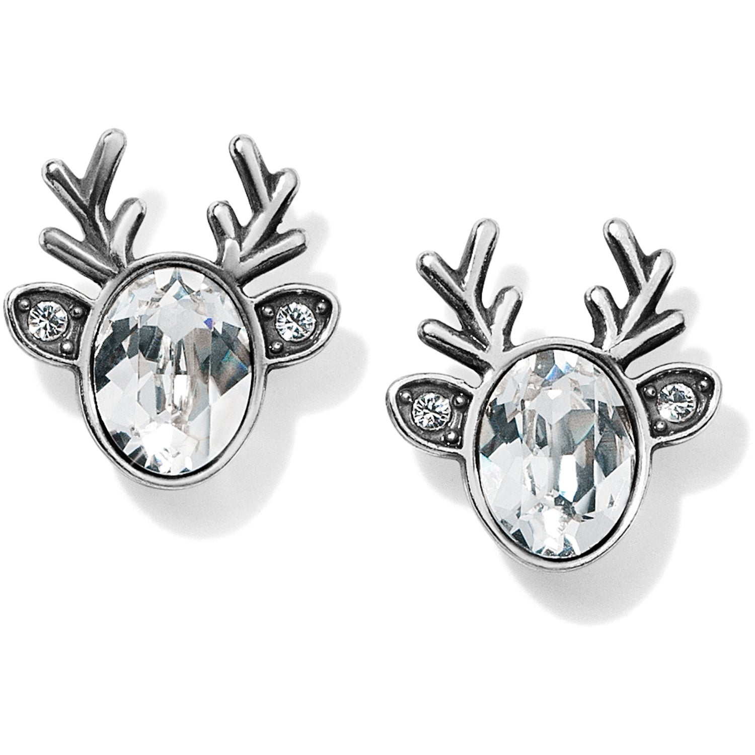 Reindeer Glitz Mini Post Earrings