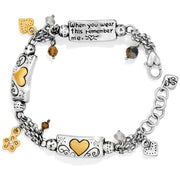 Brighton Remember Your Heart Bracelet